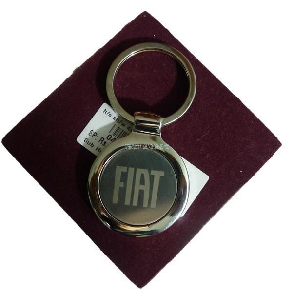 FIAT Keychain in Gun Metal