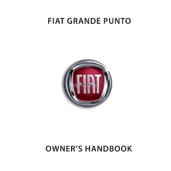 fiat grande punto owner s handbook manual rh 99rpm com Fiat Punto 2001 Fiat Panda