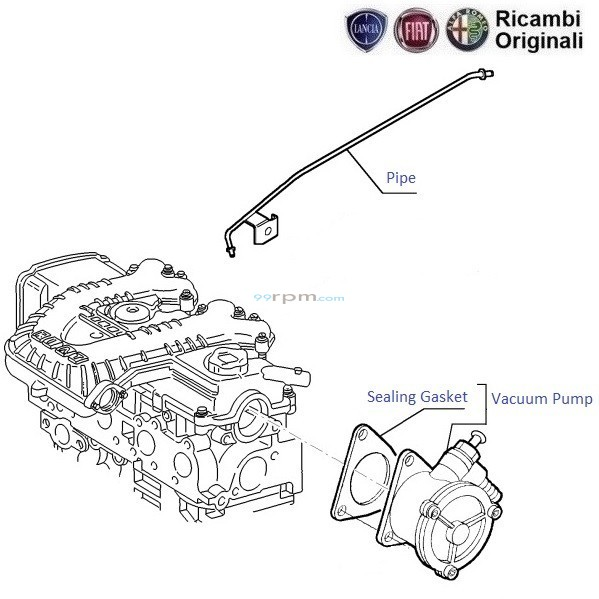mazda b2200 vacuum routing diagram