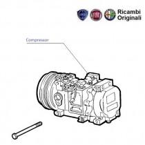 AC compressor| 1.7D| Siena Weekend