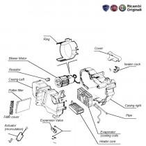 FIAT Palio AC components