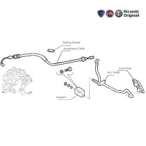 Pedal & Cable| Accelerator| 1.1| Palio Stile