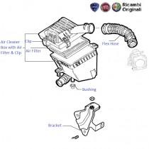 Air Cleaner & Hose| 1.7D| Siena Weekend| Siena(Pre-2001)