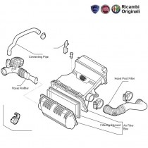 Air Cleaner & Hoses| 1.4 FIRE| Punto| Linea