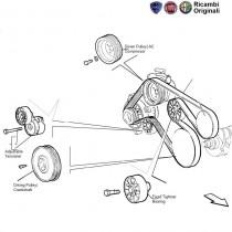 Alternator Belt| 1.9D| Palio| Petra