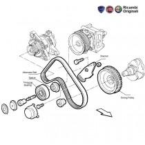 Alternator Belt & Pulleys| 1.6| Palio| Stile
