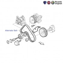 Alternator Belt| 1.0 Petrol| Uno