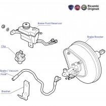 Brake Booster  ABS  Punto