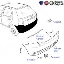 Fiat Palio Stile: Rear Bumper