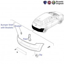Fiat Grande Punto: Rear Bumper