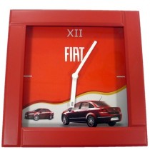 FIAT Wall Clock Red colored
