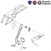 Clutch Pedal  1.6  Palio