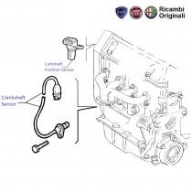 Fiat Palio 1.2 Petrol: Crankshaft & Camshaft Position Sensor
