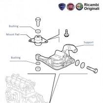 Engine B-Mount  1.2  Palio  Siena