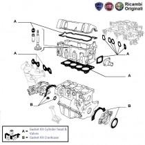 Engine Gasket Kit| 1.1| Palio Stile