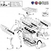 Engine Gasket Kit| 1.6| Palio| Petra|  Stile