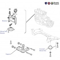 Engine Mounts  1.1  Palio Stile