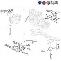 Engine Mounts  1.6  Palio  Petra  Adventure
