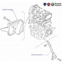 Engine Support/ Bracket  1.2 FIRE  Punto