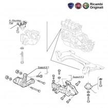 Engine Mountings  1.9D  Palio  Petra