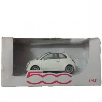 FIAT 500 Toy Scale Model White
