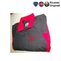 FIAT JACKET in Black-Red Color