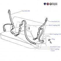 Rear Seat Belt| Palio Stile