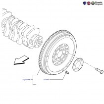 Flywheel  1.4 FIRE  Punto
