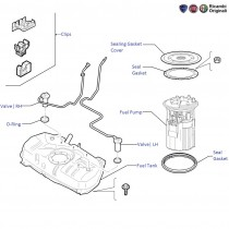 Fuel Tank & Pump| 1.4 FIRE| Punto