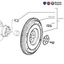 Flywheel  1.6  Palio  Siena  Adventure  Stile
