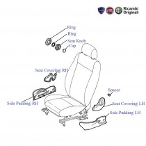 Front Seat Covering| LH| Palio Stile