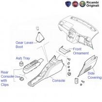 Fiat Linea gear lever console