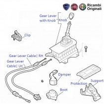 FIAT Linea 1.3 MJD: Gear Lever & Control