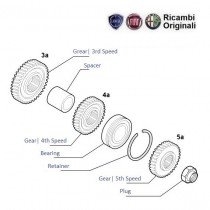 Gears 3rd 4th & 5th Speed| 1.1| Palio Stile