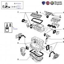 Engine Gasket Kit| 1.7D| Siena Weekend| Siena(Pre-2001)