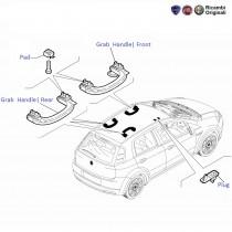 Fiat Grande Punto: Grab Handle