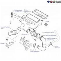 FIAT Linea 1.3 Multijet Diesel: Air Cleaner & Hoses