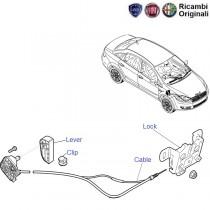 Lock & Cable| Bonnet| Linea