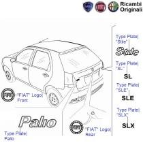 Fiat Palio Stile 1.1 Petrol: Logos