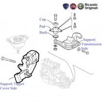 FIAT Palio Stile 1.6 Petrol: Engine Mountings