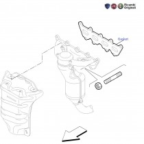 Mountings| Exhaust Manifold| 1.4 FIRE| Punto
