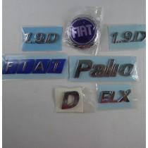 Classic Logos Set - Palio 1.9D