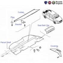 Fiat Linea: Rear Parcel Tray