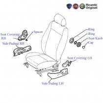 Front Seat Covering| RH| Palio Stile