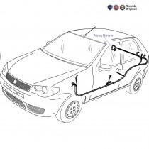 Rear Wiring Harness  1.3 MJD  Palio Stile