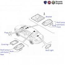 Fiat Linea: Roof Lamp