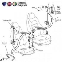 FIAT Punto Front seat Belts