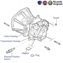 Transmission Casings| 1.3 MJD| Punto