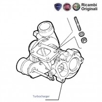 Turbocharger| 1.7D| Siena Weekend| Siena(Pre-2001)