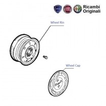 Wheel Rim & Cap| Siena(Pre-2001)